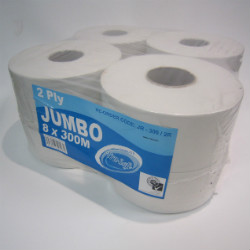 Toilet Paper Large 2 Ply Rolls