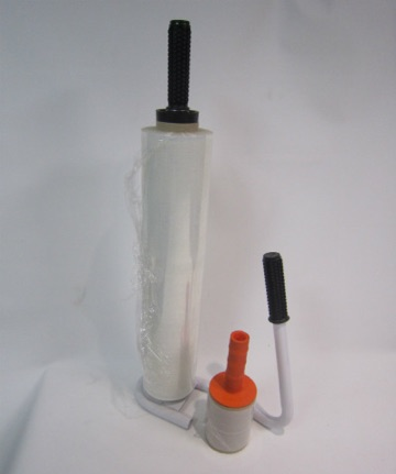 Pallet wrap dispenser