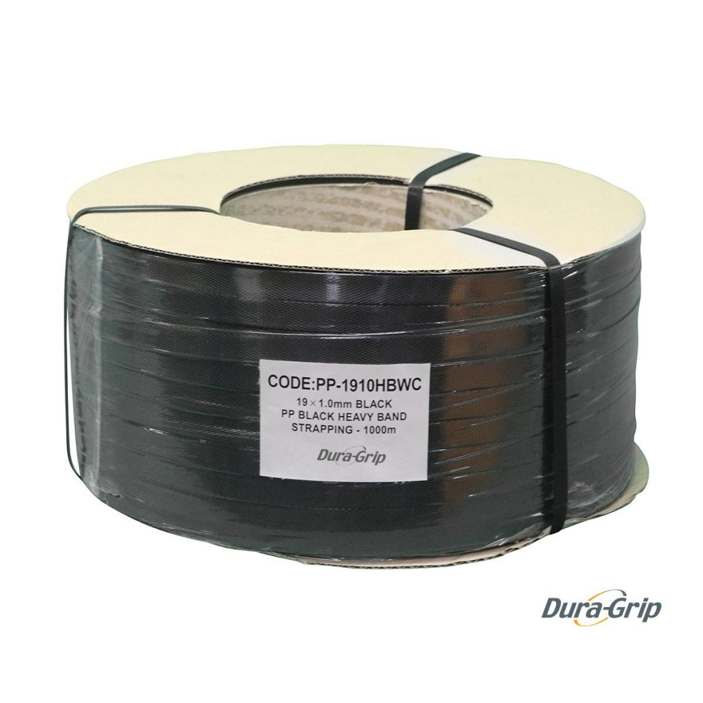 PP Black Heavy Band Strapping